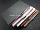 Porte-cartes en aluminium en forme d'aluminium, porte-cartes élégant