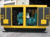 128kw/160kVA Cumminsの閉鎖無声ディーゼル発電機セット