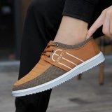 熱い販売の人のための偶然の人の靴およびスニーカーのズック靴