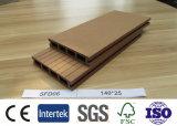 140x25mm prix d'usine WPC Decking composite pour la construction de la décoration