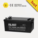 VRLA Batterie-Solarbatterie UPS-Batterie-Speicherbatterie-tiefe Schleife-Batterie-nachladbare gedichtete Leitungskabel-Säure-Batterie 12V 200ah