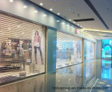 Commercial / Shopping Centre / Store roulant porte en polycarbonate transparent