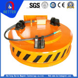 ISO keurde het schroot-Vervoer van het Type Elektrische Opheffende Magneet Op hoge temperatuur voor Staalfabriek/De Industrie van Bouwmaterialen goed