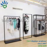 Стойка индикации пола магазина ткани металла Rotationg для одежды
