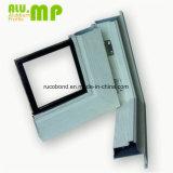 Kundenspezifisches verdrängtes Aluminiumprofil Windows
