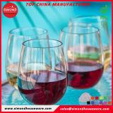 Novos produtos de moda Stemless plásticovidro vidro beber Vinho Tinto
