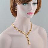 卸し売り方法宝石類の花嫁の宝石類セットと結婚するアフリカの金のネックレス