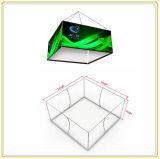 伸縮織物の図形(16ft)が付いている天井の正方形のハングの印