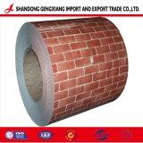 Usine rouge brique PPGL PPGI galet/feuille d'acier