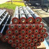 Acero al carbono cinta transportadora de rodillo / rodillo loco