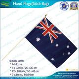 オーストラリアは示すフラグ(T-NF01F02019)を揺する国手を