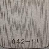 Het vlotte Leer van het Leer Pu van het Meubilair van de Oppervlakte (hongjiu-HS042#)