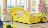 현대 디자인 고품질 빨 수 있는 아이들 직물 침대 (HCB020)