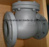 Form-Stahl Wcb flanschte Enden-Schwingen-Rückschlagventil
