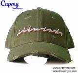 형식 육군 녹색에 의하여 세척되는 면 야구 모자