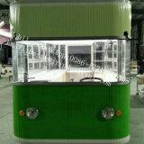アイスクリームの販売ヨーロッパドバイのための移動式食糧トラックの食糧トレーラー