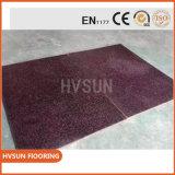 L'anti ginnastica della pavimentazione di Crossfit di scossa sottile ricicla il rullo di gomma del pavimento della stuoia