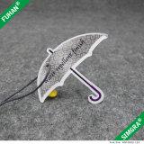 광택지는 부대 의류를 위한 커트 우산 걸림새 꼬리표를 정지한다