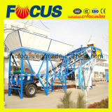 50~60m3/H pianta concreta mobile, pianta d'ammucchiamento concreta mobile Yhzs50/60
