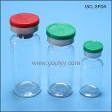 Fiale di vetro dell'iniezione con il tappo di gomma