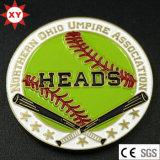 Moneta su ordinazione di baseball del ricordo del metallo per il randello