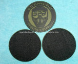 Soft Silicone PVC Rubber Patch com Velcro Backing