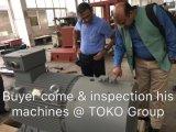 Machine de découpe pour les bobines en acier