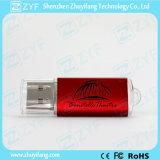로고 (ZYF1287)에 소형 플라스틱 2GB USB 지키