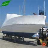 Couleur blanche PE Film Rétractable pour protéger les palettes des bateaux de voitures