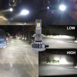 Faro dell'automobile LED di Lightech 60W H7 con l'indicatore luminoso automatico di 9600lm LED per l'automobile (H1 H3 H7 H4 H11 H13 5202 880 881 9005 9006 9007)