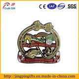2018 Venda a quente de metais personalizados Loja Badge com o pino de segurança