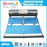 aquecedor solar de água do tubo de alta dividido com sistema eléctrico