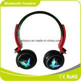 Hoofdtelefoon Bluetooth van de Kaart van de Hoofdband BR van de Slijtage Soundstage van de Macht van de koele LEIDENE Flits van de Verlichting de Bas Grote Draagbare Comfortabele Lichtgewicht