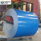 Dx51d Grau Prepainted bobina de aço galvanizado PPGI Material de Construção