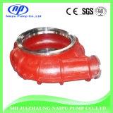 Alto rivestimento interno del Volute della pompa dei residui del bicromato di potassio