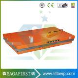 Ciseaux à cargaison télescopique hydraulique de la table élévatrice