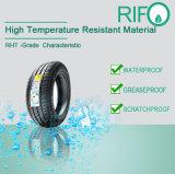 車のタイヤのための防水、高い耐熱性ラベル