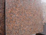 중국은 G562 단풍나무 빨강 화강암을 닦았다