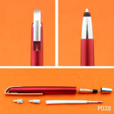 Lápiz óptico de alta calidad Bolígrafo plástico bolígrafo de diseño de logotipo de empresa