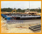 Doppia estrazione mineraria della sabbia dell'oro dell'indennità della piattaforma che agita Tabella