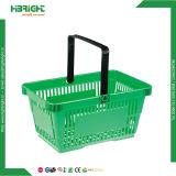 スーパーマーケットのプラスチック小売りの買物かご28L