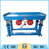 Проверка вибраций трясут таблица для конкретных уплотнения и огнеупорные материалы