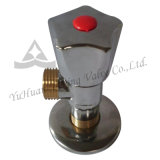 Угловой вентиль тазика латунный для производителя топления (YD-A5028)