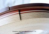 Bordure foncée de PVC de double modèle de couleur