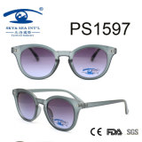 Óculos de sol quentes da forma da forma redonda de venda (PS1597)