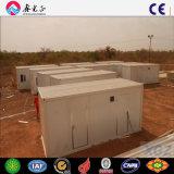 20FT 임시 사이트 야영지 조립식 콘테이너 집