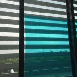 Film bleu de protection de guichet