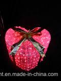 新年の屋外のホテル庭の装飾のための装飾的なLEDのギフト用の箱ライト