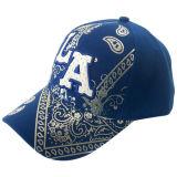 Горячая бейсбольная кепка панели сбывания 6 с 3D логосом Bb189