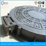 C250 fabricados na China ao redor da tampa de inspeção de esgoto composto